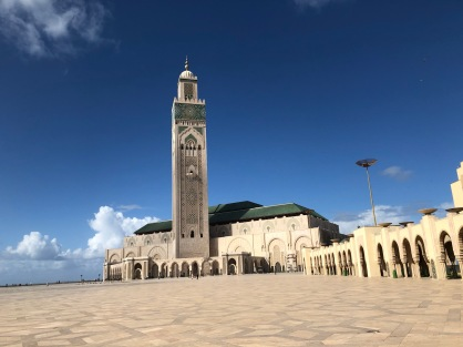 The Hassan II Mosque in Casablanca. Built in 7 years. at the peak, over 1000 workers during the day and at night working together to create a harmonius structure. They understood their role in creating something bigger than themselves.